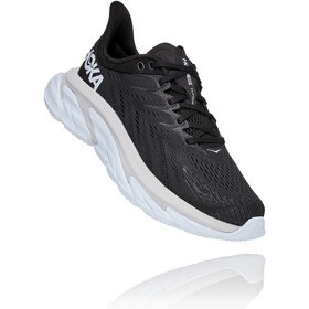 Hoka One One Clifton Edge Running Shoes Women, black/white